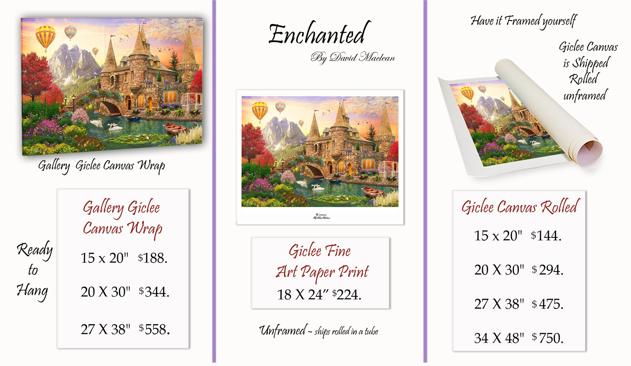 Enchanted  ________________________ Order Options Here