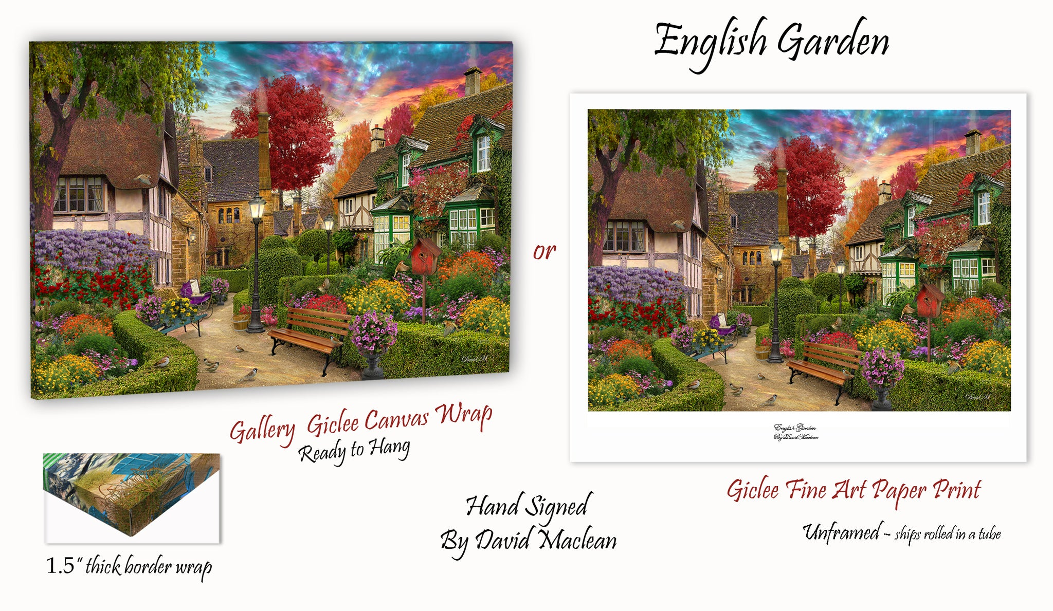 English Garden   _____________________    Order Options Here