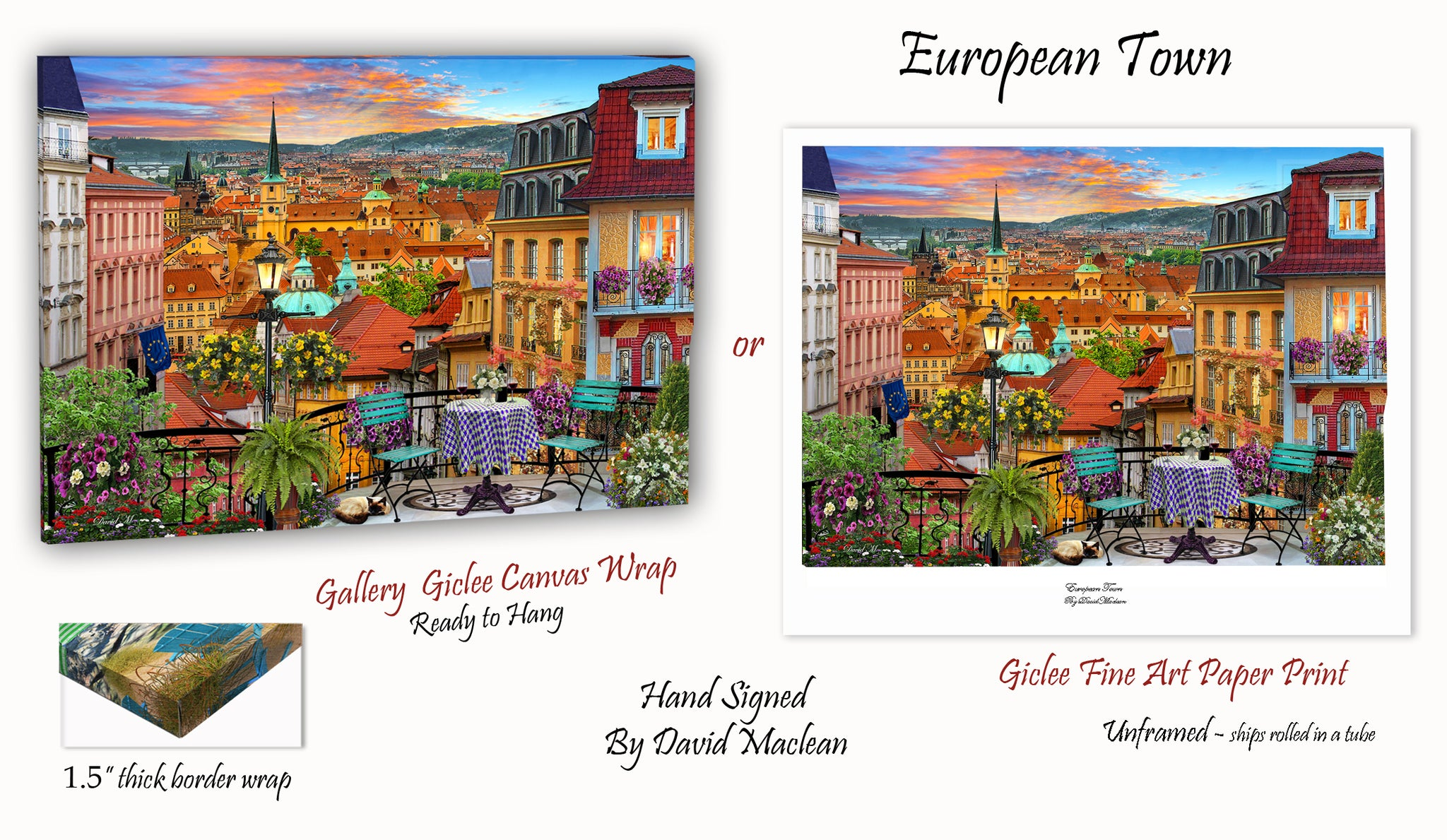 European Town _____________________ Order Options Here