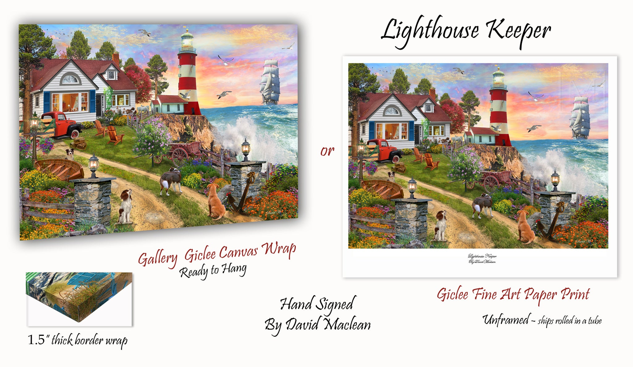 Lighthouse Keeper _____________________ Order Options Here