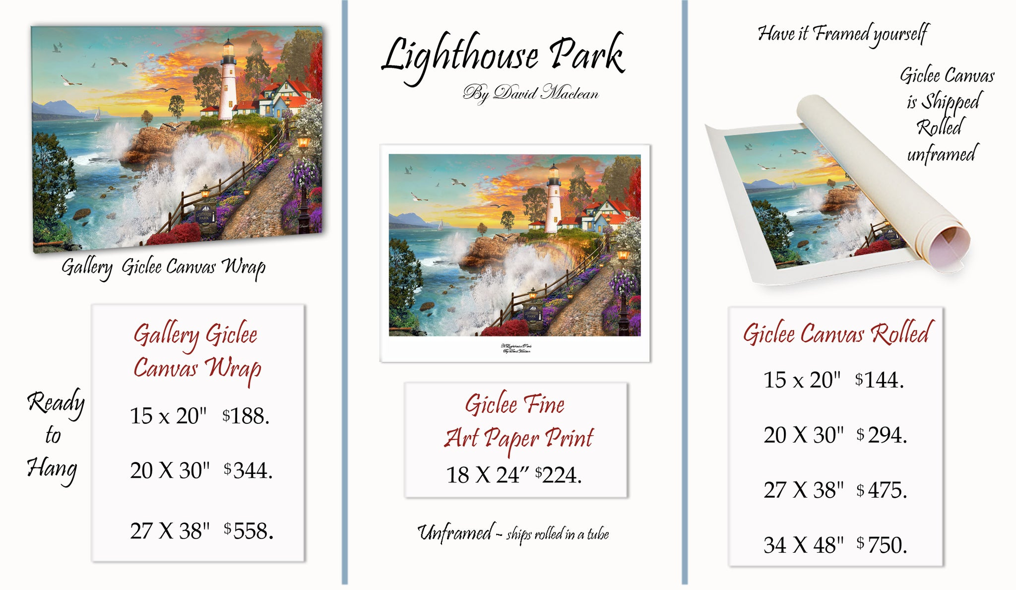Lighthouse Park  ________________________ Order Options Here