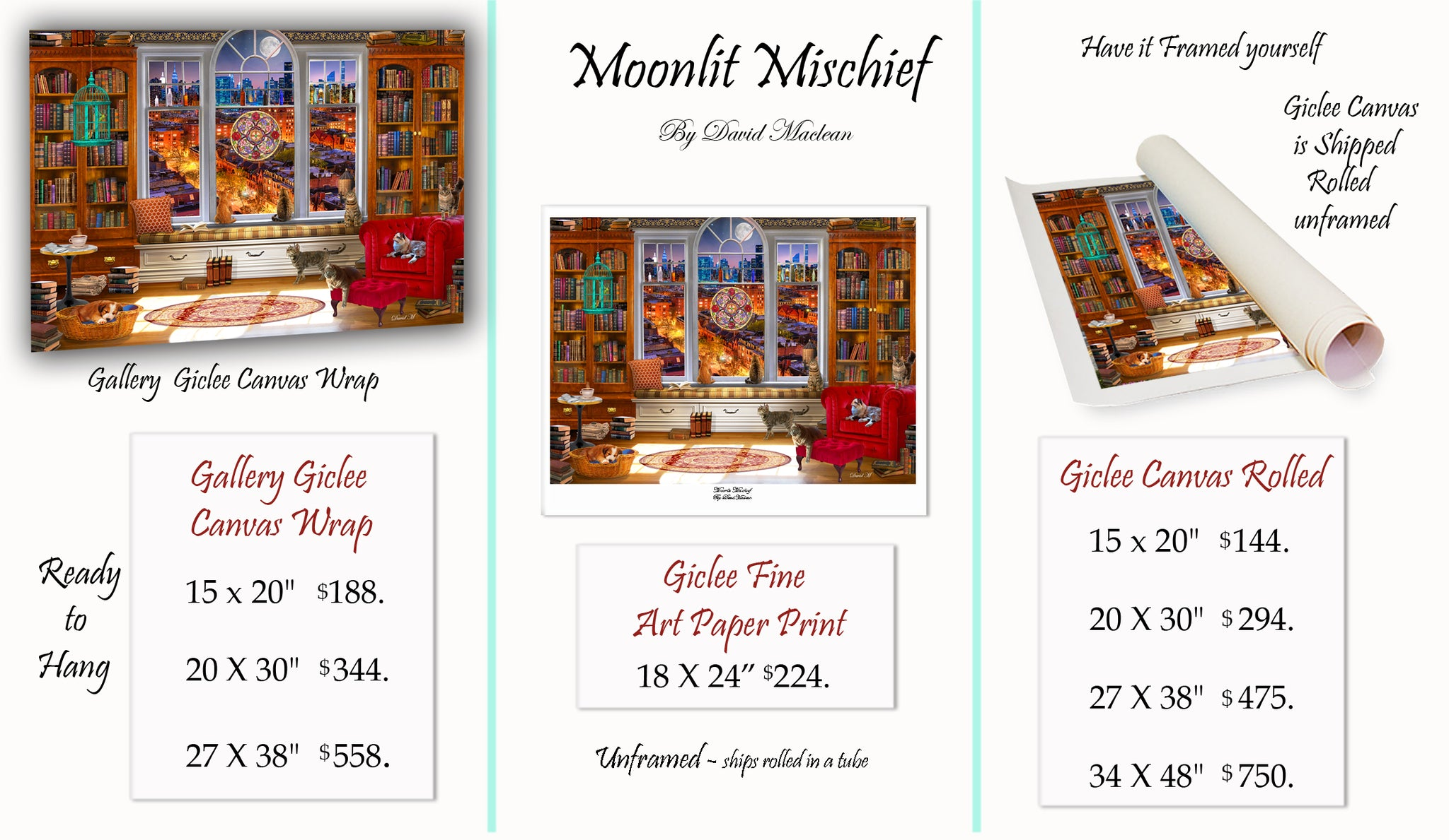 Moonlit Mischief  ________________________ Order Options Here