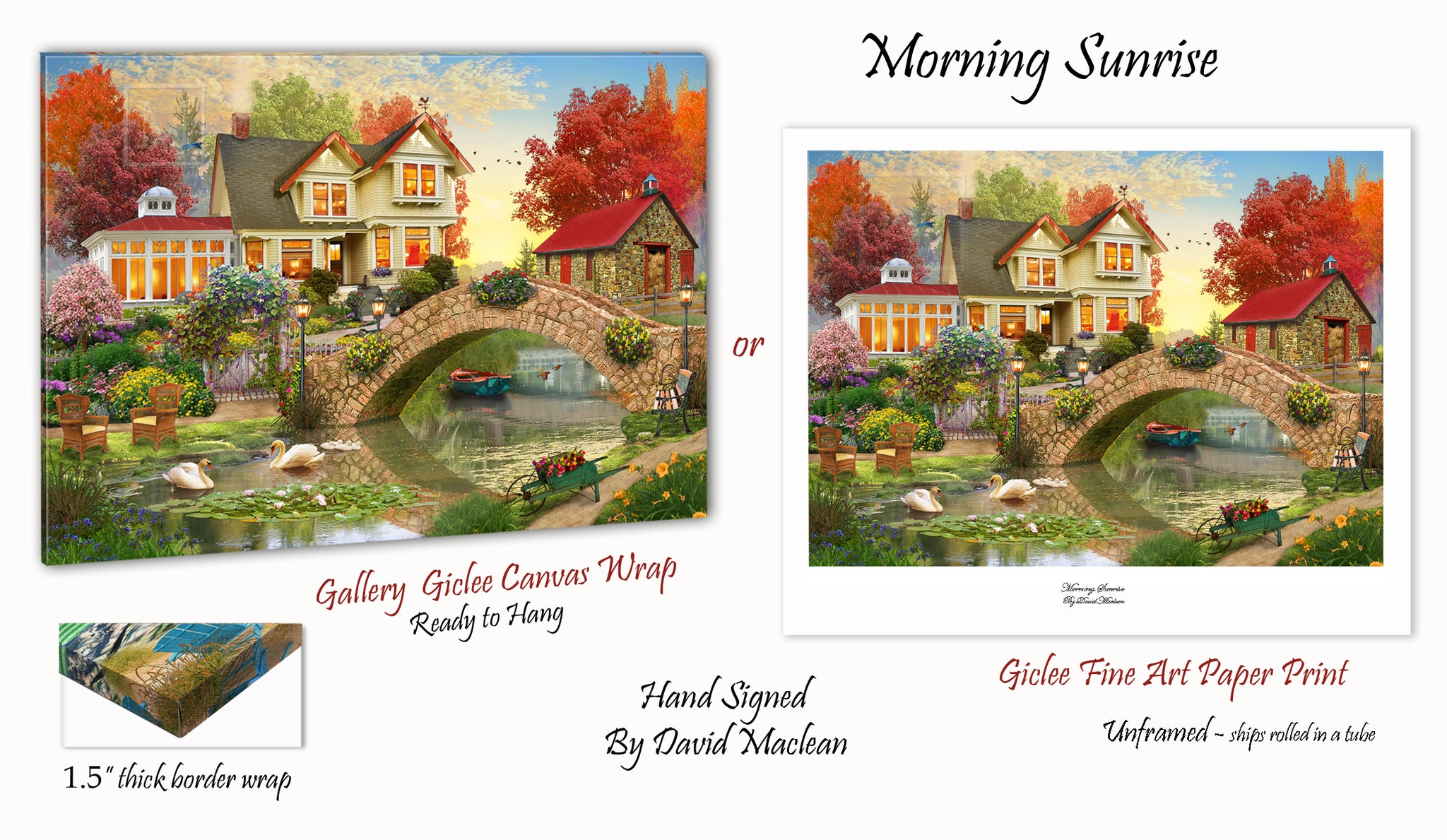 Morning Sunrise  ________________________ Order Options Here