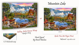 Mountain Lake  ________________________ Order Options Here