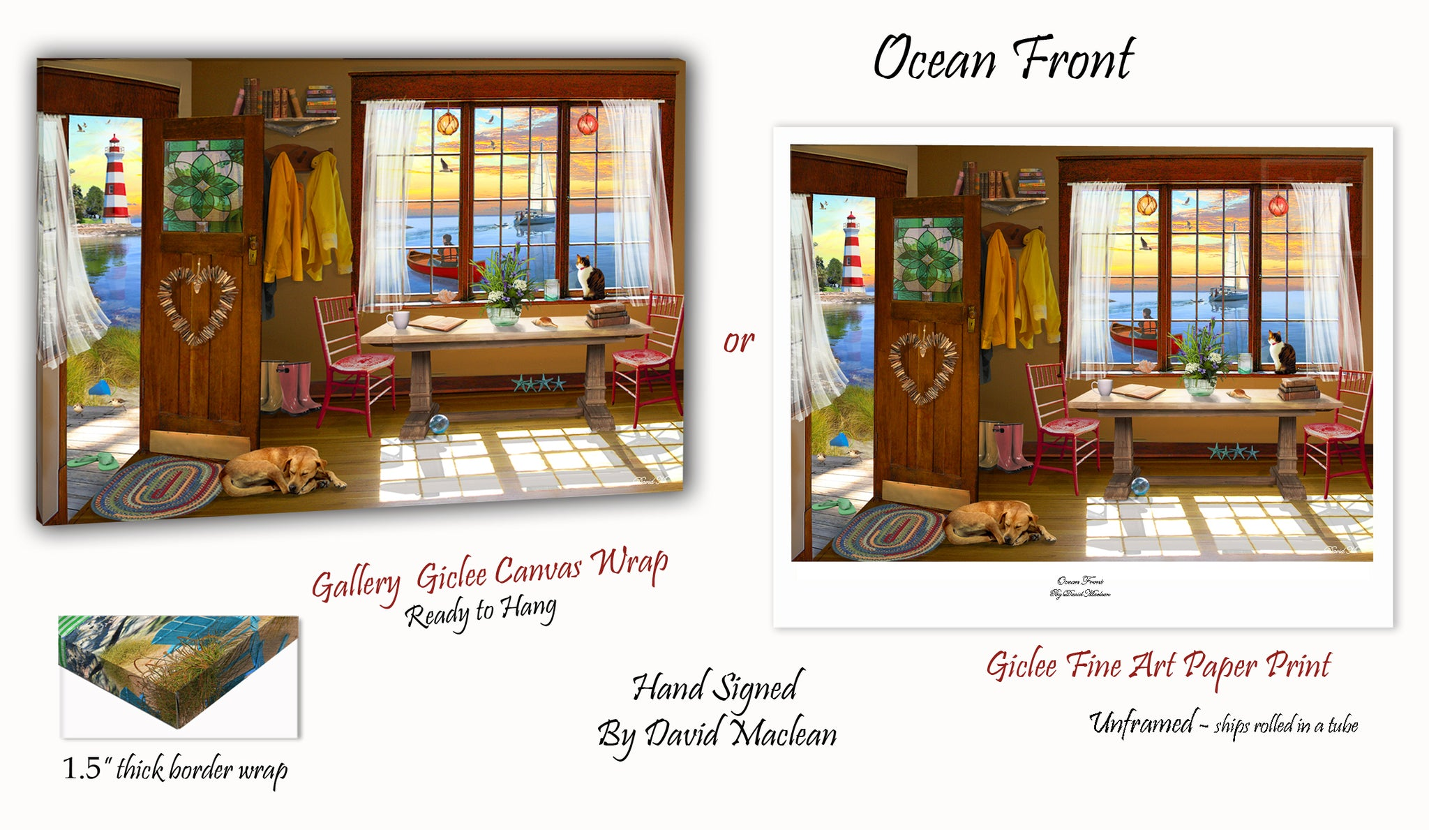 Ocean Front _____________________ Order Options Here