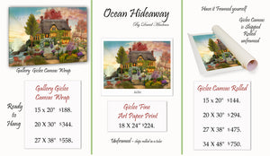 Oceanside Hideaway  ________________________ Order Options Here