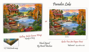 Paradise Lake  ________________________ Order Options Here