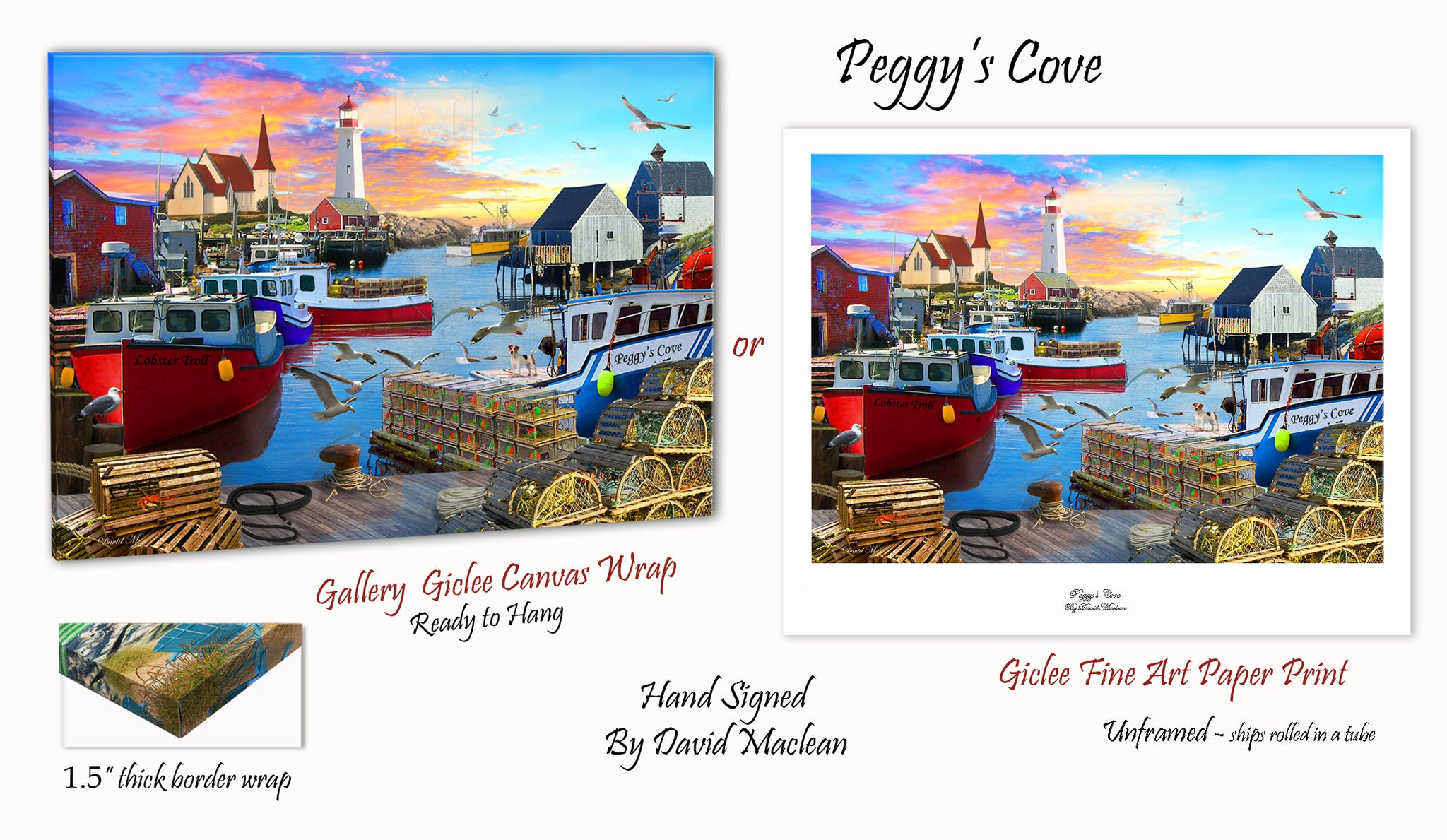Peggy's Cove  ________________________ Order Options Here