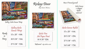 Rickey's Diner  ________________________ Order Options Here