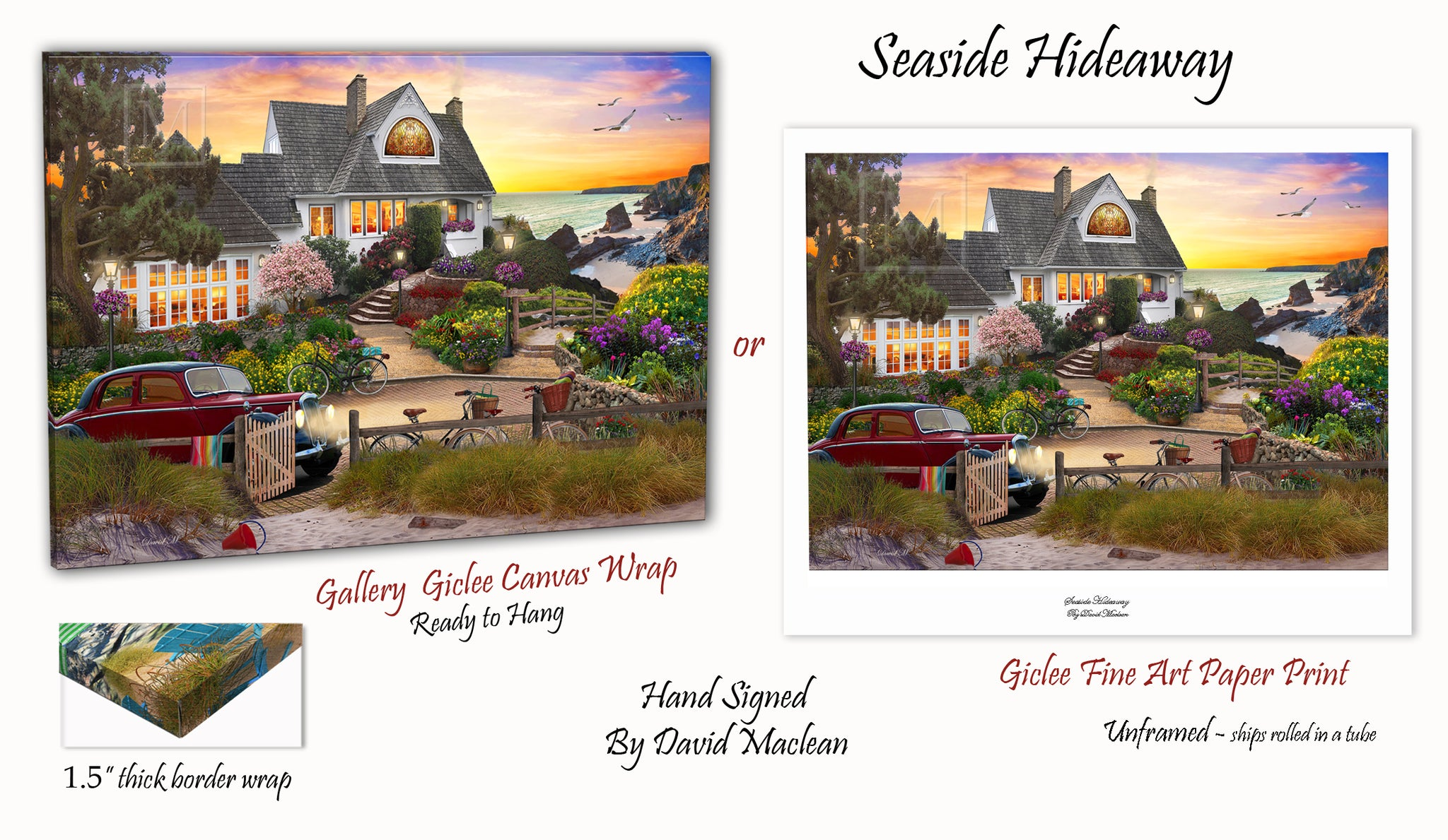 Seaside Hideaway  ________________________ Order Options Here