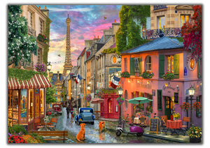 Sunset Over Paris   _______________________________    Order Options Here