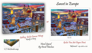 Sunset in Europe ____________________ Order Options Here