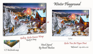 Winter Playground  ________________________ Order Options Here