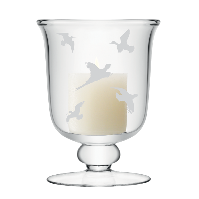 Game Birds Small Candle Lamp