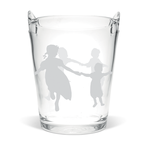 Dancing Children Champagne Ice Bucket