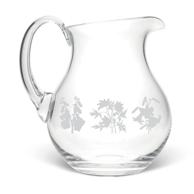 Wild Flowers Large Crystal Jug