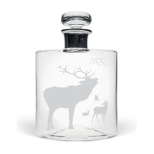 Personalised Stag Large Flask Decanter