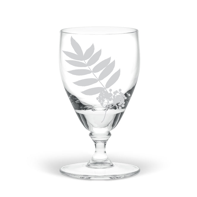 Rowan Leaf Large Wine Glass