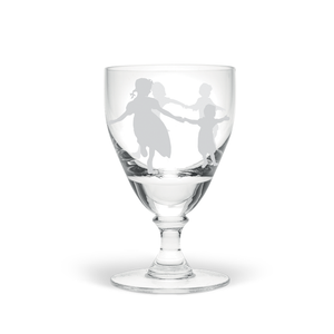 Dancing Children Small Wine Glass