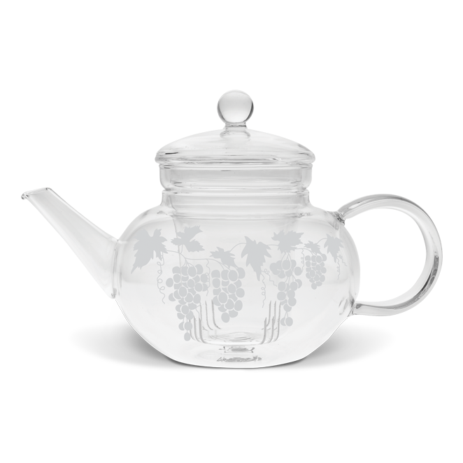 Edwardian Grapevine Tea Pot