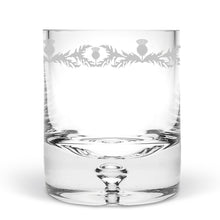 Thistle Hand Blown Tumbler