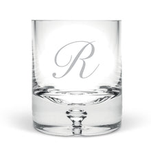 Personalised Initial Hand Blown Tumbler