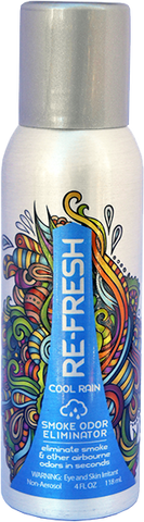Re-Fresh Cool Rain - 4oz. Aluminum Can