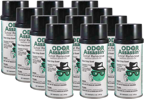 Odor Assassin Total Release Fogger - Cans (12 per Case) Qty. 1-9 Cases