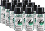 Odor Assassin Total Release Fogger - Cans (12 per Case) Qty. 40+ Cases