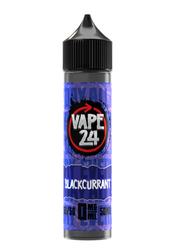 Vape 24 50/50 Blackcurrant