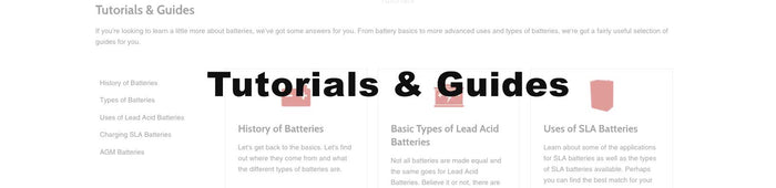 Replacement Battery Tutorials & Guides