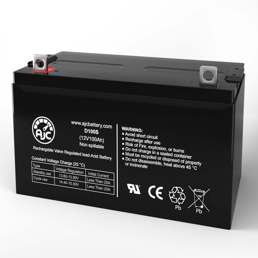 Leoch LPC12-100 12V 100Ah Wheelchair Replacement Battery