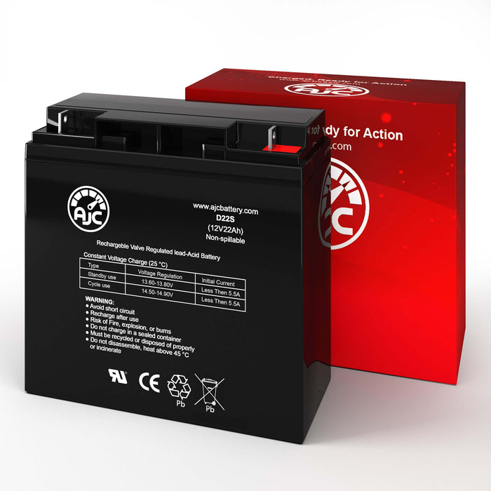 Rocket ES22-12 12V 22Ah UPS Replacement Battery-2