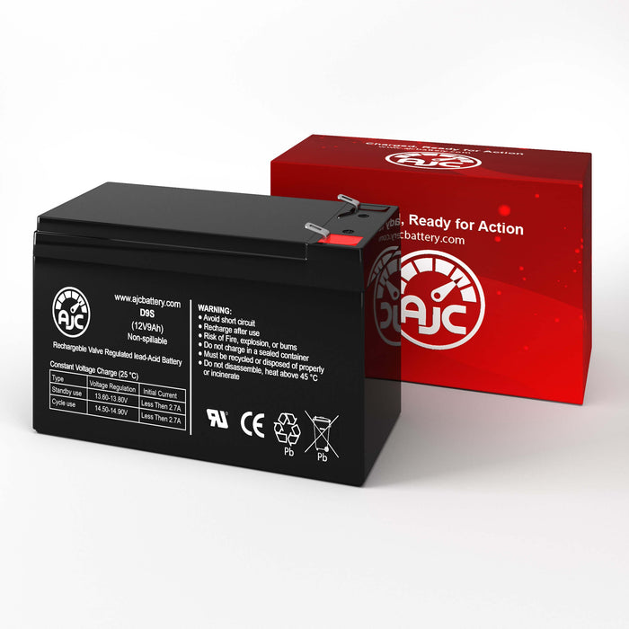 AJC 12V 9Ah - F2 Terminal - Sealed Lead Acid - AGM - VRLA Battery-2