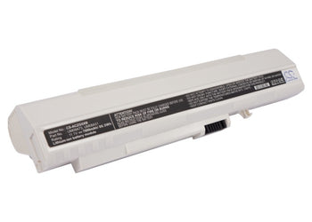 Acer Aspire One Aspire One 531H Aspi White 7800mAh Replacement Battery