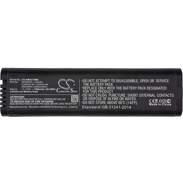 Anritsu MS2024A MS2024B MS2025B MS2026A MS2026B MS Replacement Battery