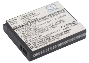 Panasonic Lumix DMC-FT5 Lumix DMC-FT5A Lumix DMC-F Replacement Battery