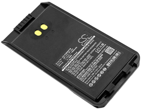 Icom F1000 F1000D F1000S F1000T F2000 F200 1500mAh Replacement Battery