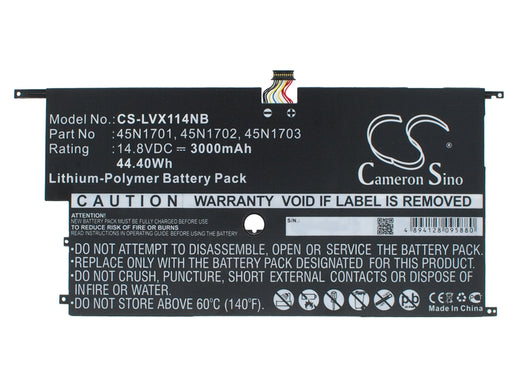 Lenovo 20A7 20A8 ThinkPad X1 Carbon 14 Replacement Battery