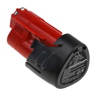 Milwaukee 2207-20 2207-21 2238-20 2238-21 2239-20 Replacement Battery