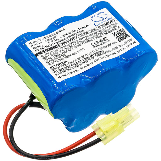 Shark V2940C V2940CFS Replacement Battery