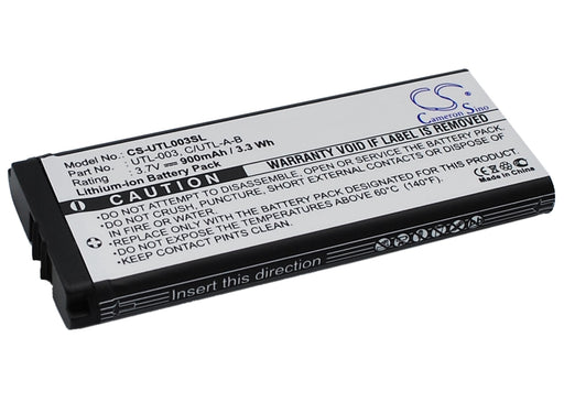 Nintendo DS XL DSi LL DSi XL UTL-001 Replacement Battery