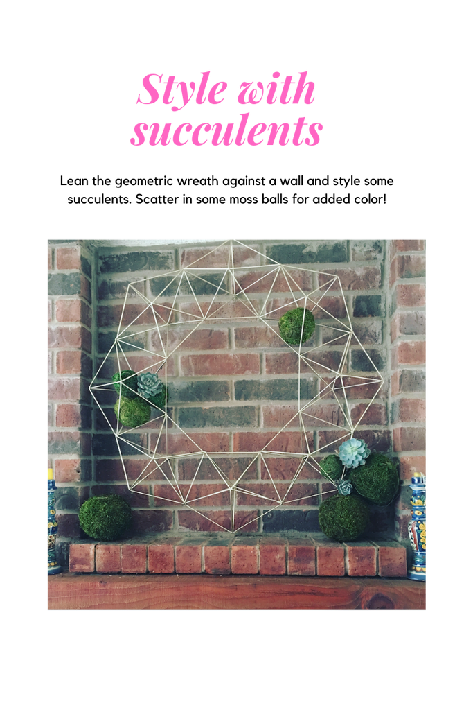 Style with Succulents