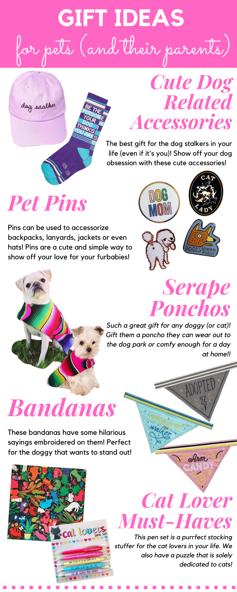 Gift Guide for Pets and Their Parents