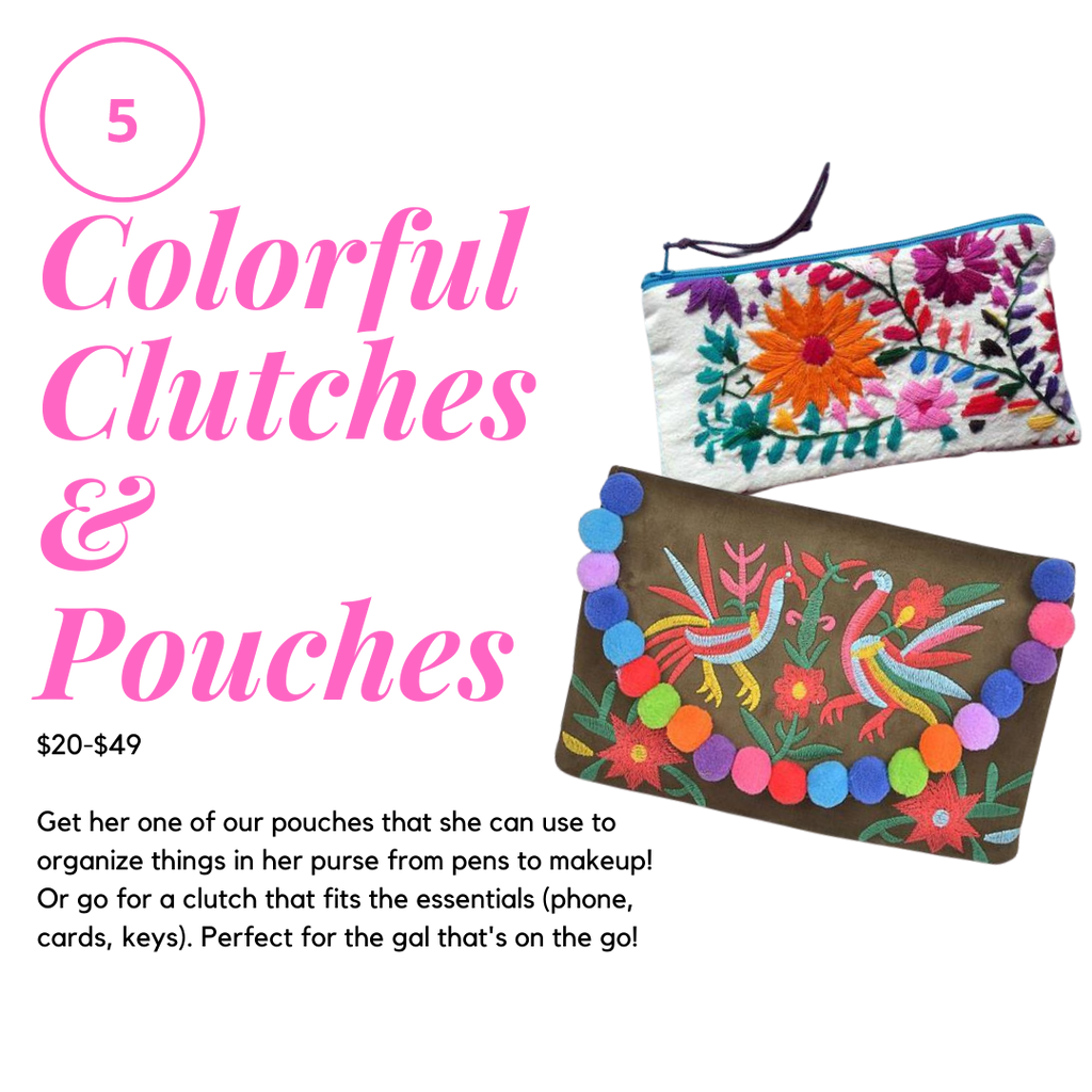 Gift Ideas For her Clutches and Pouches