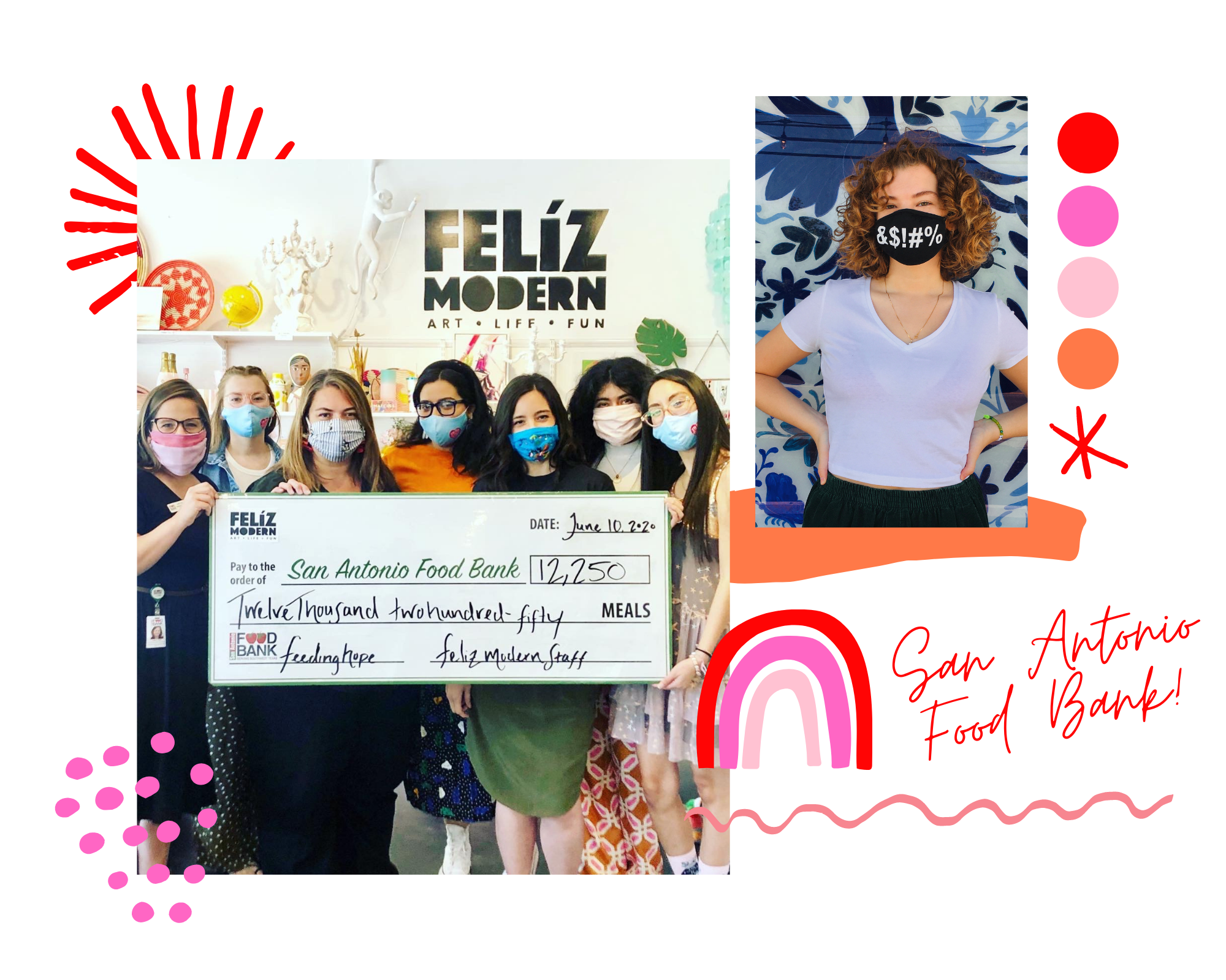 Feliz Modern Community- San Antonio Food Bank