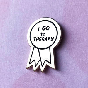 AVEP I Go to Therapy Pin -  - Pin - Feliz Modern