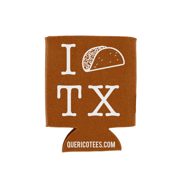 QRIC I Taco Texas Drink Sleeve