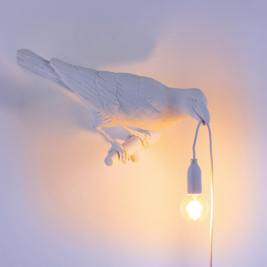 SLTI Hanging Bird Lamp (curbside only, no shipping)