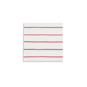JAC candy apple frenchie striped petite napkins -  - Napkin - Feliz Modern